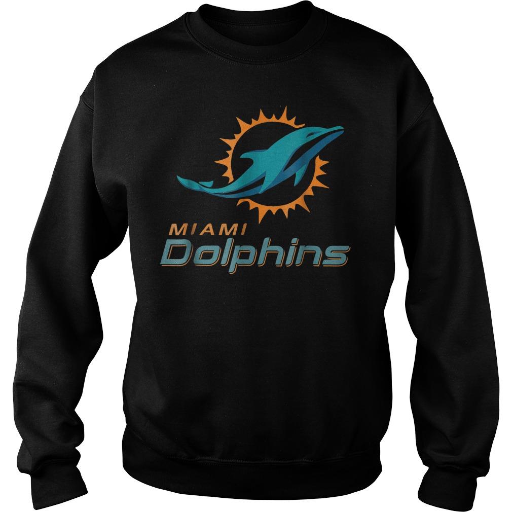 Retro Miami dolphin shirt Sweatshirt Unisex