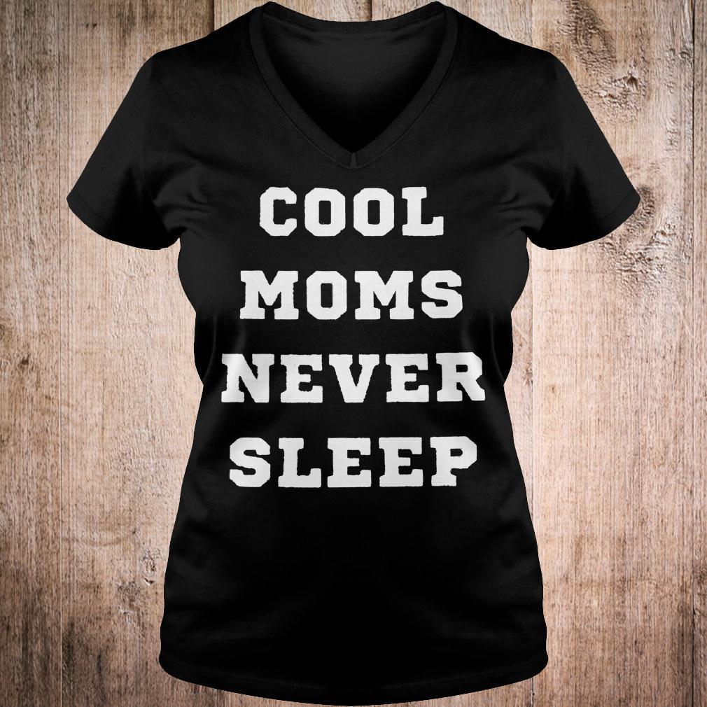 Best Price Cool moms never sleep shirt Ladies V-Neck