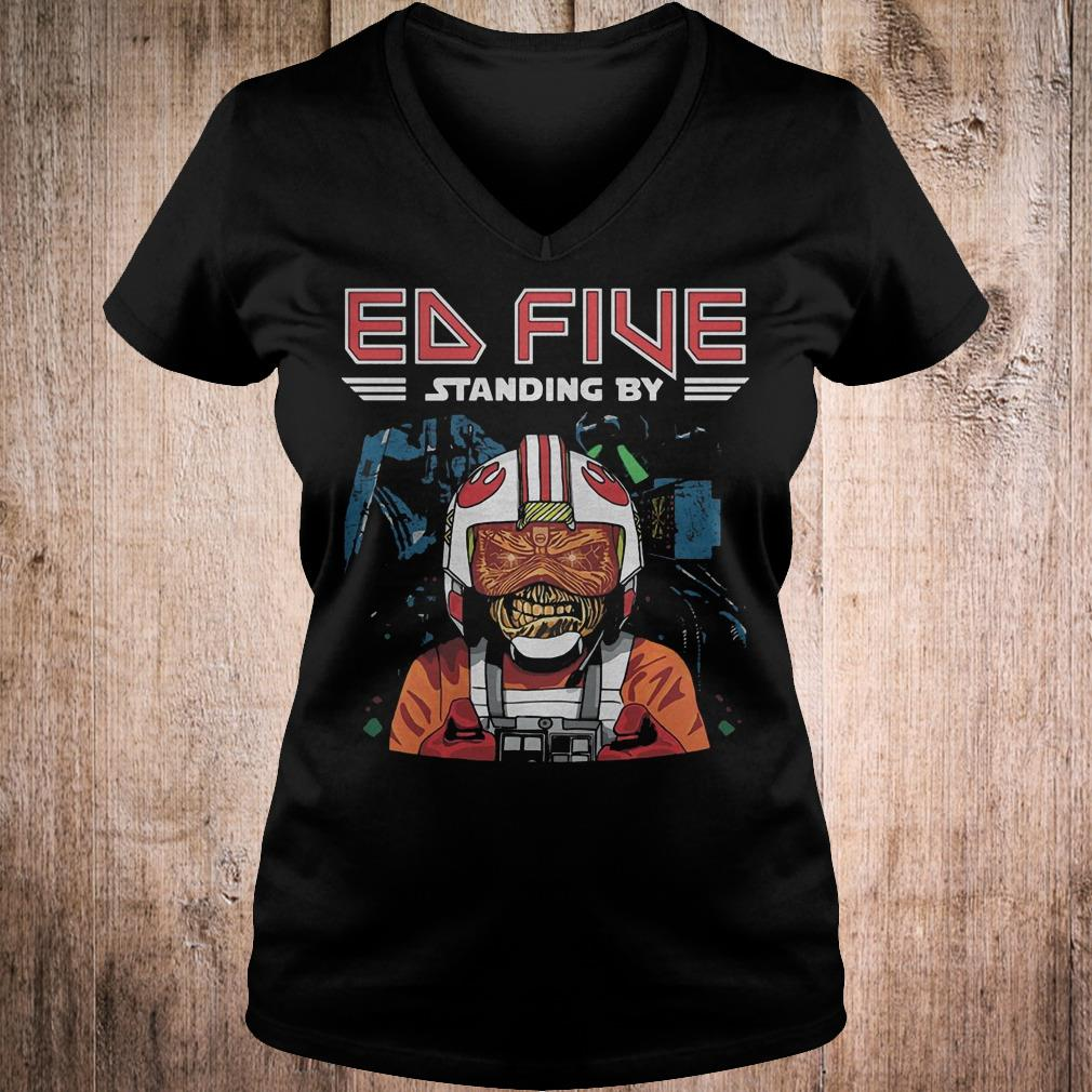 Best Price Ed five standing by shirt Ladies V-Neck
