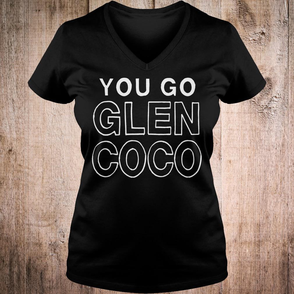 Best Price Mean girl you go Glen coco shirt Ladies V-Neck