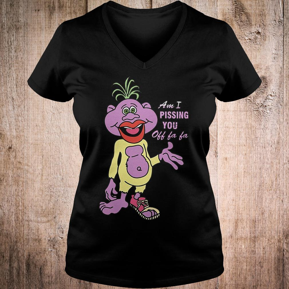 Best Price Peanut am i pissing you off fa fa Jeff Dunham shirt Ladies V-Neck