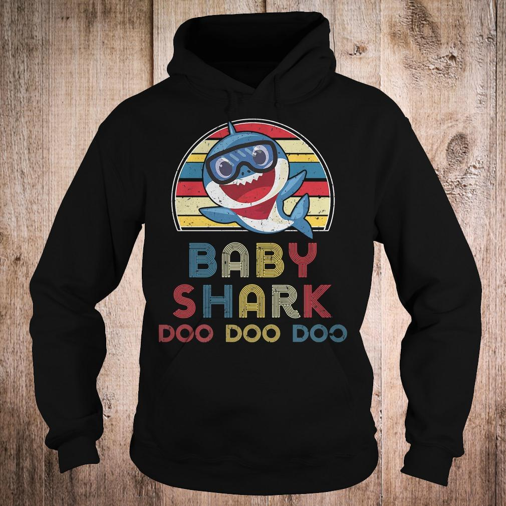 Best Price Retro Vintage Baby Sharks doo doo doo shirt Hoodie