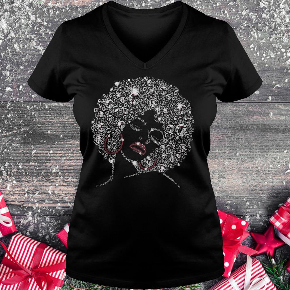 Falcons lady Shirt Ladies V-Neck