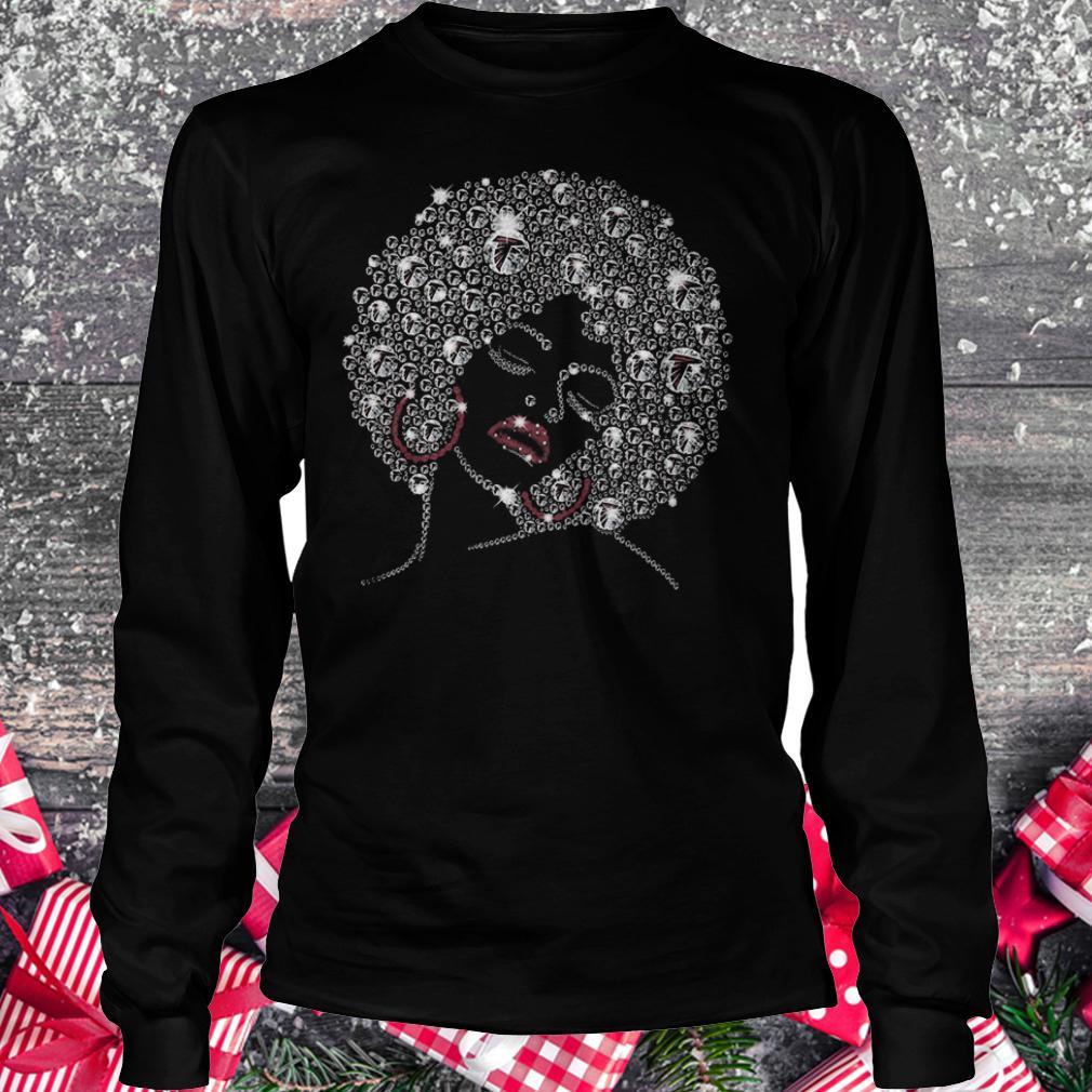 Falcons lady Shirt Longsleeve Tee Unisex