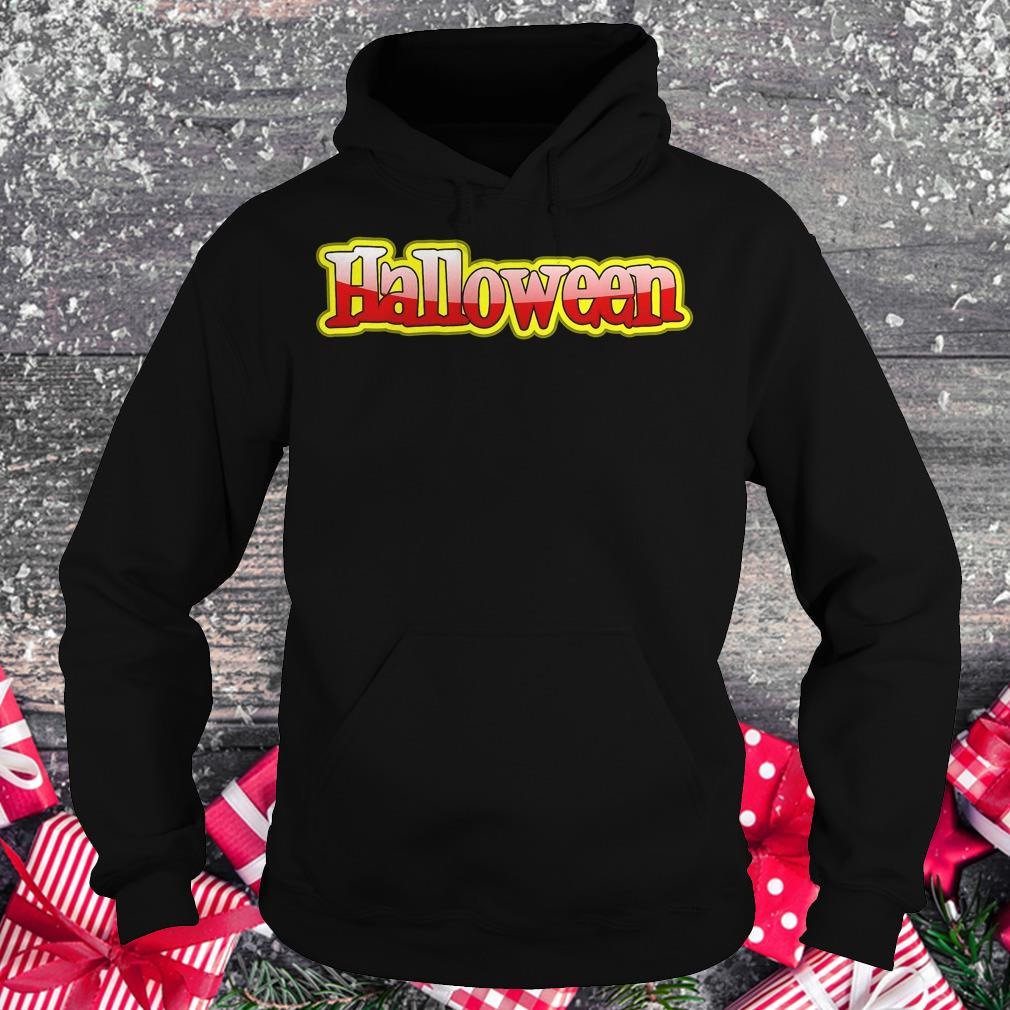 Halloween clipart text banner Shirt Hoodie