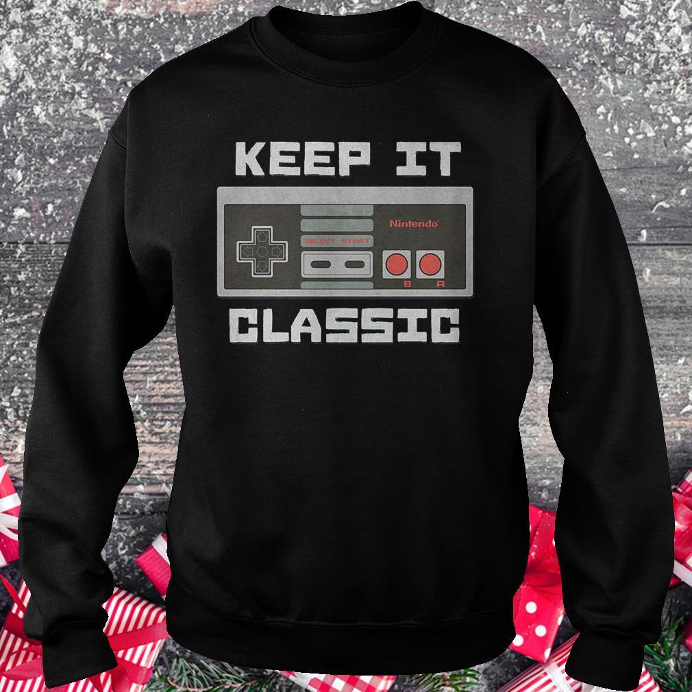 Keep it classic controller Shirt Sweatshirt Unisex