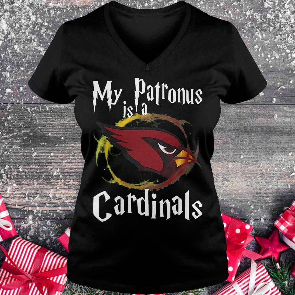 My patronus is a Arizona Cardinals football NFL Shirt Ladies V-Neck