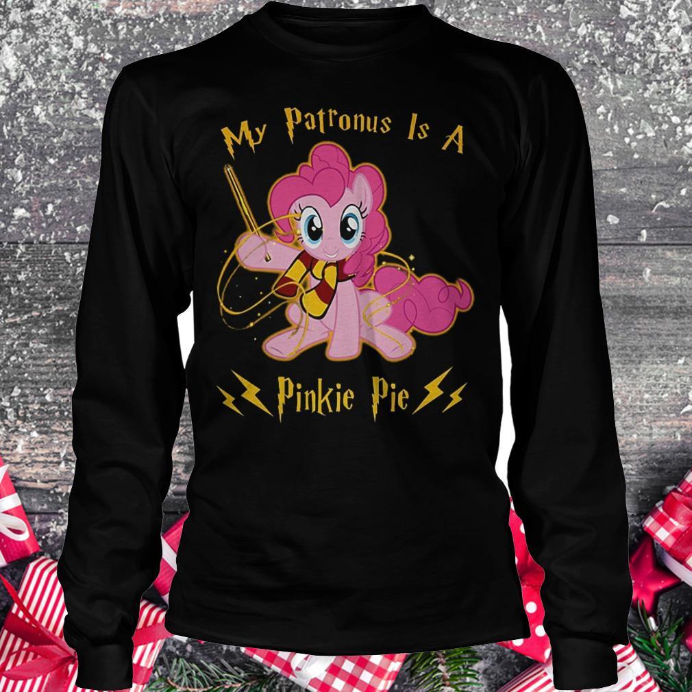 My patronus is a pinkie pie shirt Longsleeve Tee Unisex