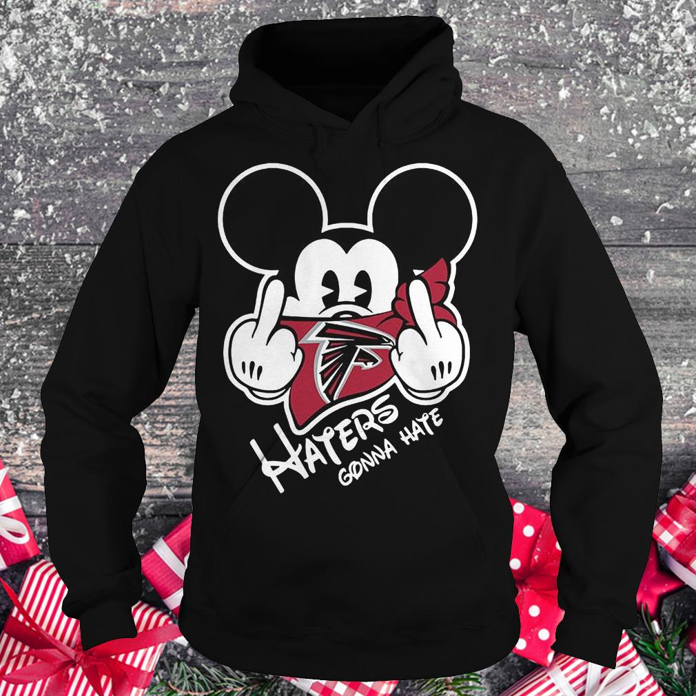 NFL Atlanta Falcons haters gonna hate Mickey Mouse Shirt Hoodie