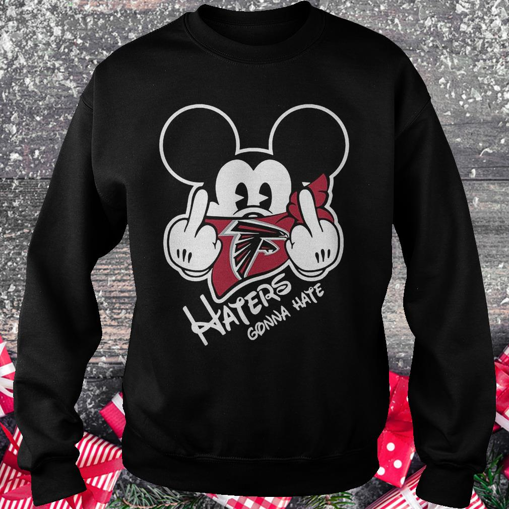 NFL Atlanta Falcons haters gonna hate Mickey Mouse Shirt Sweatshirt Unisex