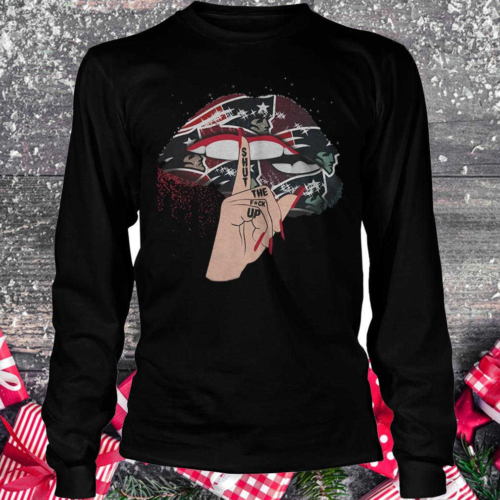 Nfl New England Patriots Lips Shut The Fuck Up Shirt Longsleeve Tee  Unisex.jpg 6fd78301f