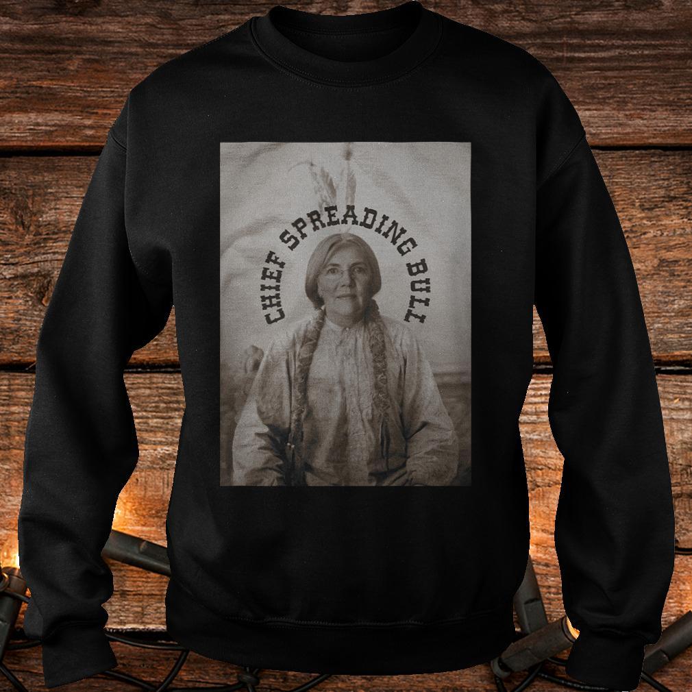 Official Chief spreading bull T-Shirt Sweatshirt Unisex