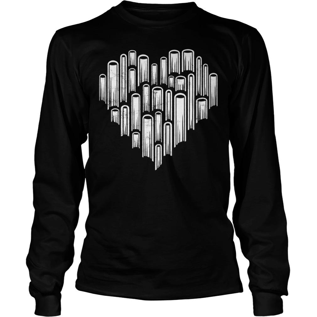 Official Heart love books T-Shirt Longsleeve Tee Unisex