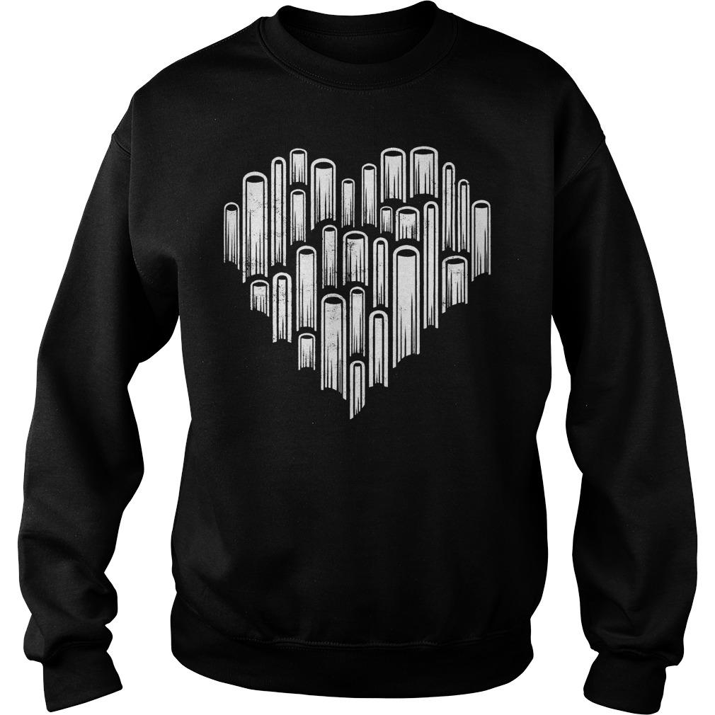 Official Heart love books T-Shirt Sweatshirt Unisex