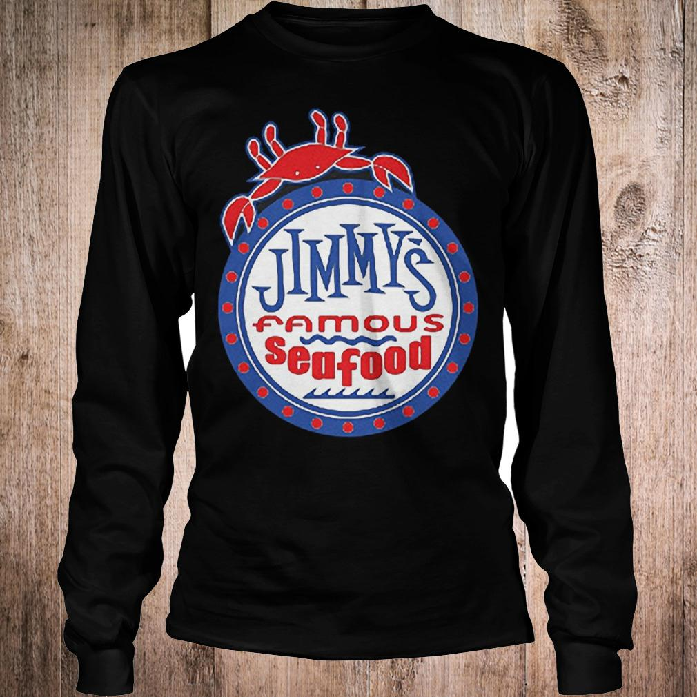 Official Jimmys famous seafood Jimmy's flag T-Shirt Longsleeve Tee Unisex