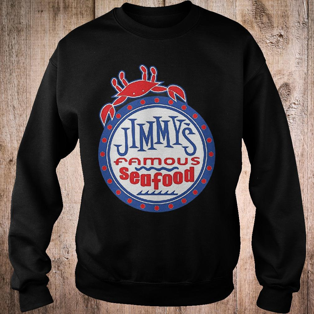 Official Jimmys famous seafood Jimmy's flag T-Shirt Sweatshirt Unisex