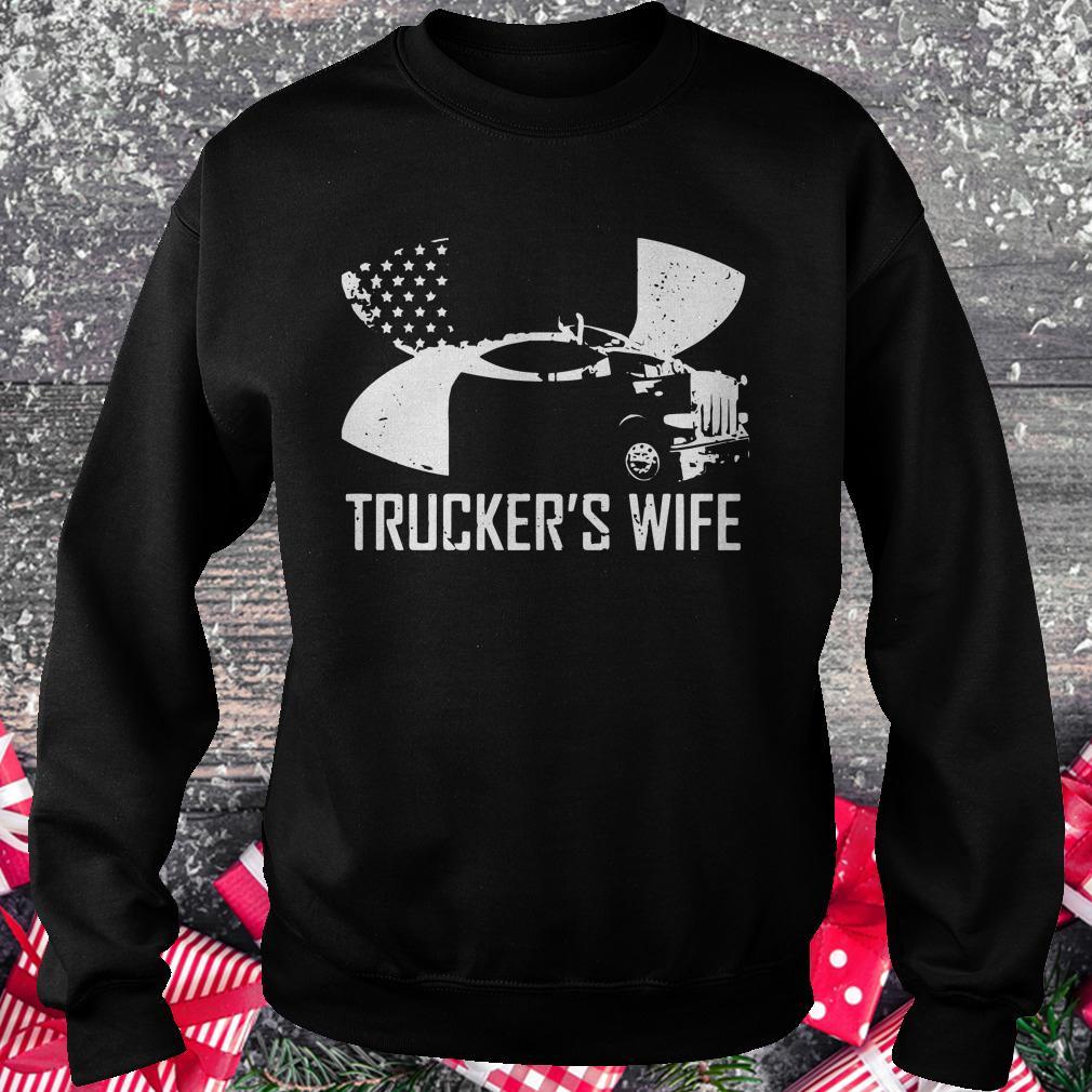 Official Under Armour Trucker's wife shirt
