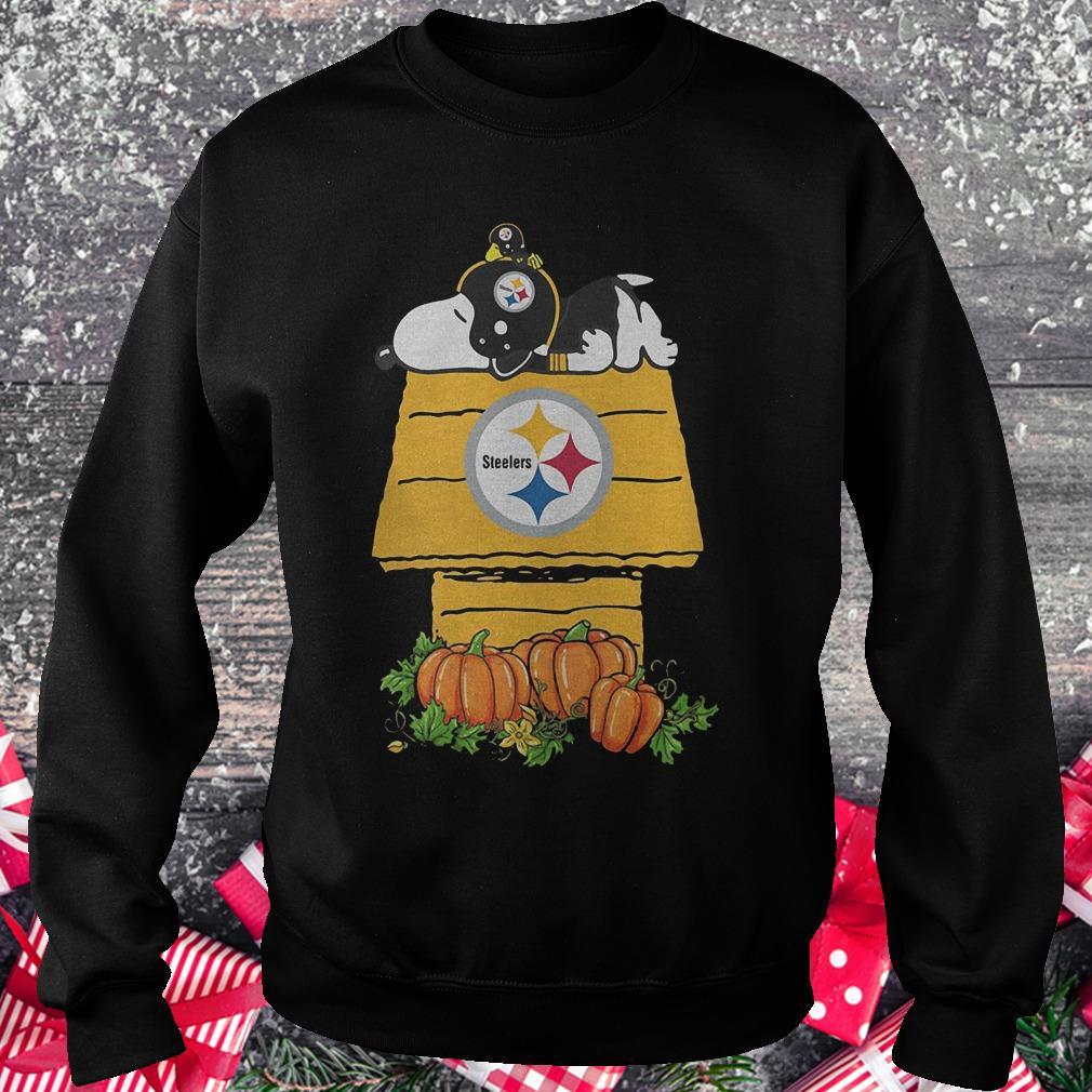 Pittsburgh Steelers Snoopy Pumpkin House Nfl Shirt Sweatshirt Unisex.jpg d5c38efb3