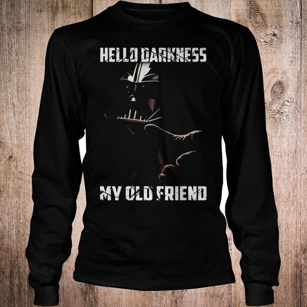 Premium Hello darkness Darth Vader star wars my old friend shirt Longsleeve Tee Unisex
