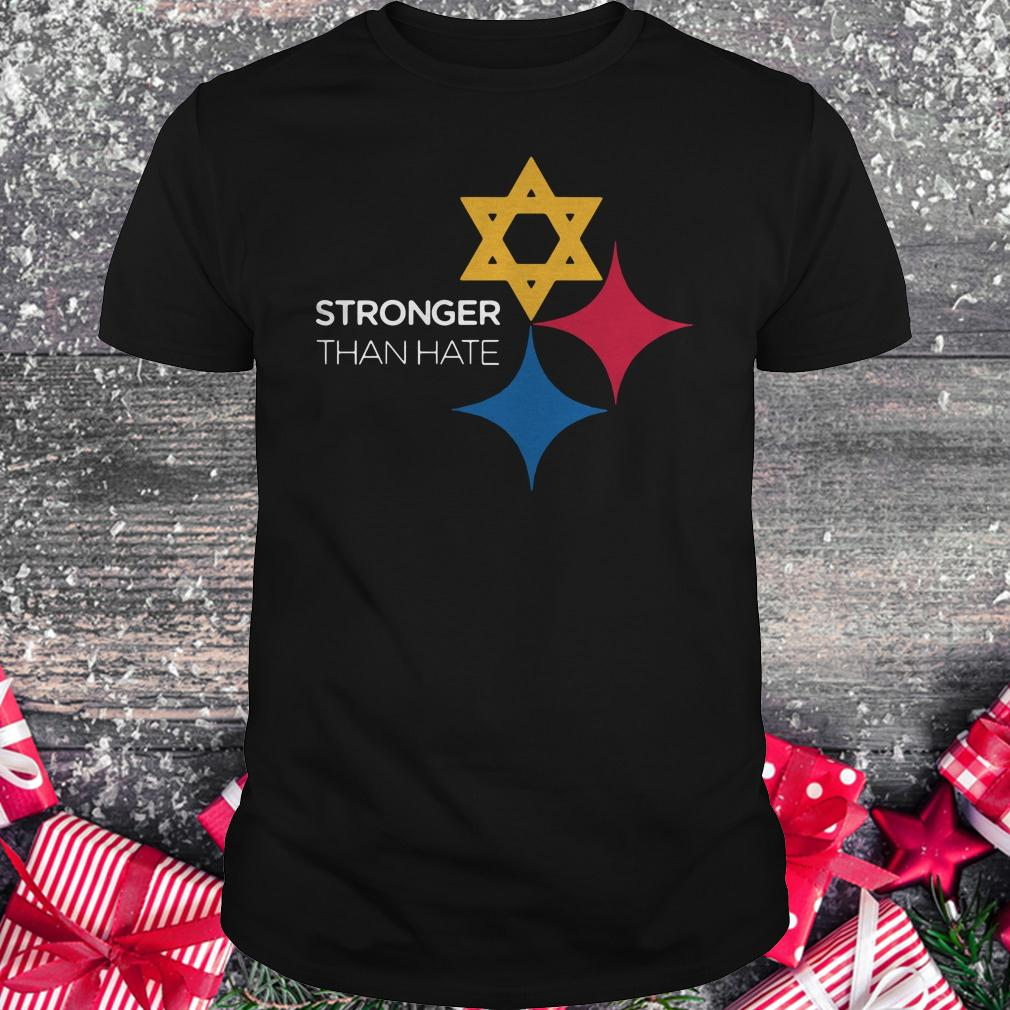 Premium Pittsburgh Stronger Than Hate shirt Classic Guys / Unisex Tee