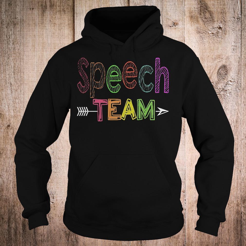 Premium Speech team shirt Hoodie