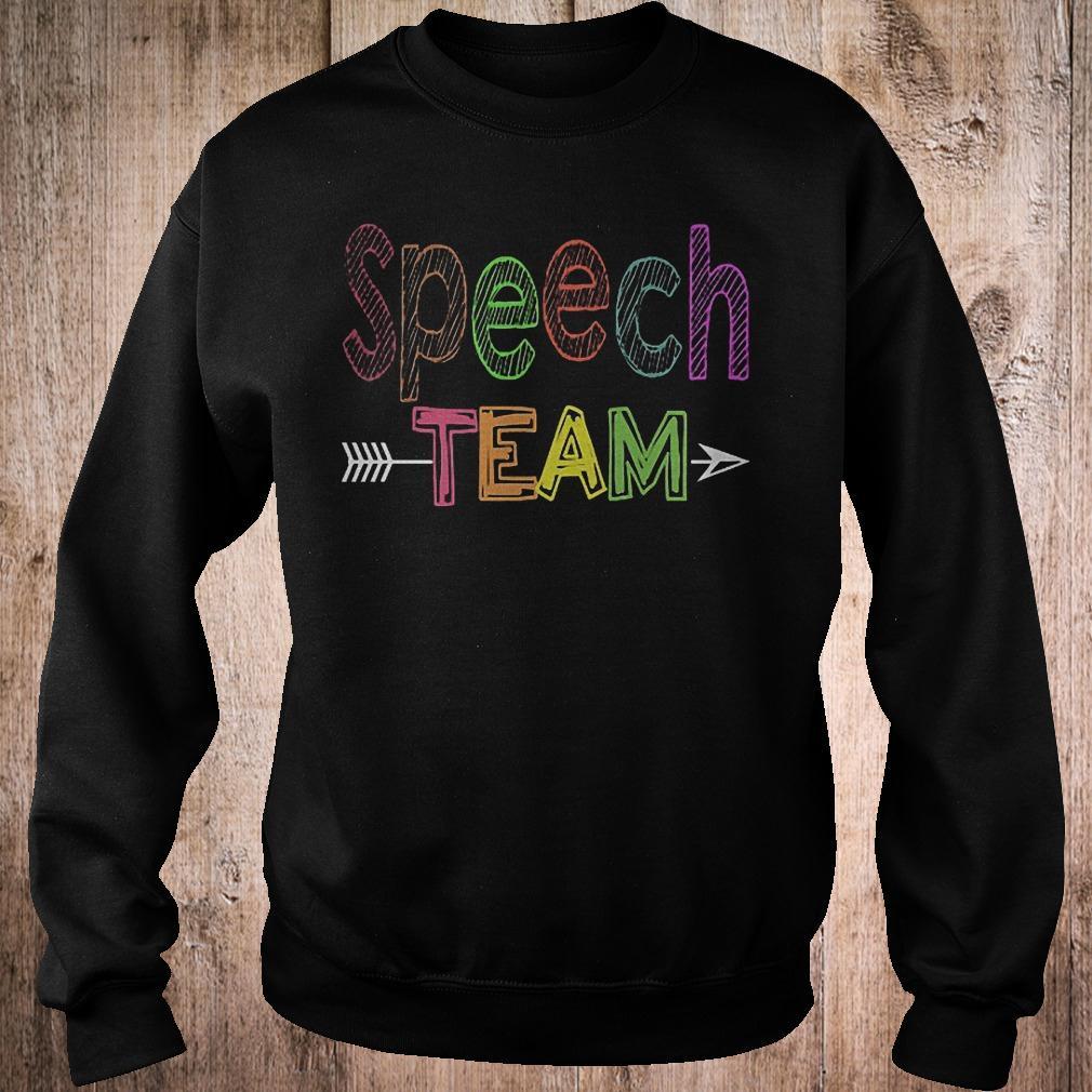 Premium Speech team shirt Sweatshirt Unisex