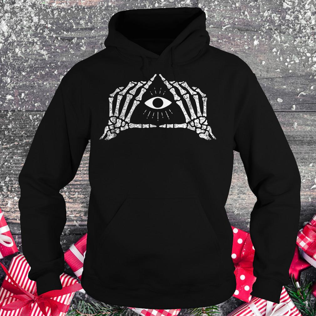 Shane Dawson skeleton all seeing eye shirt Hoodie