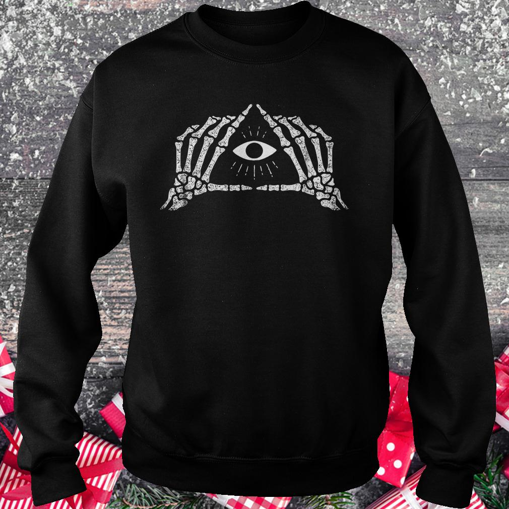 Shane Dawson skeleton all seeing eye shirt Sweatshirt Unisex