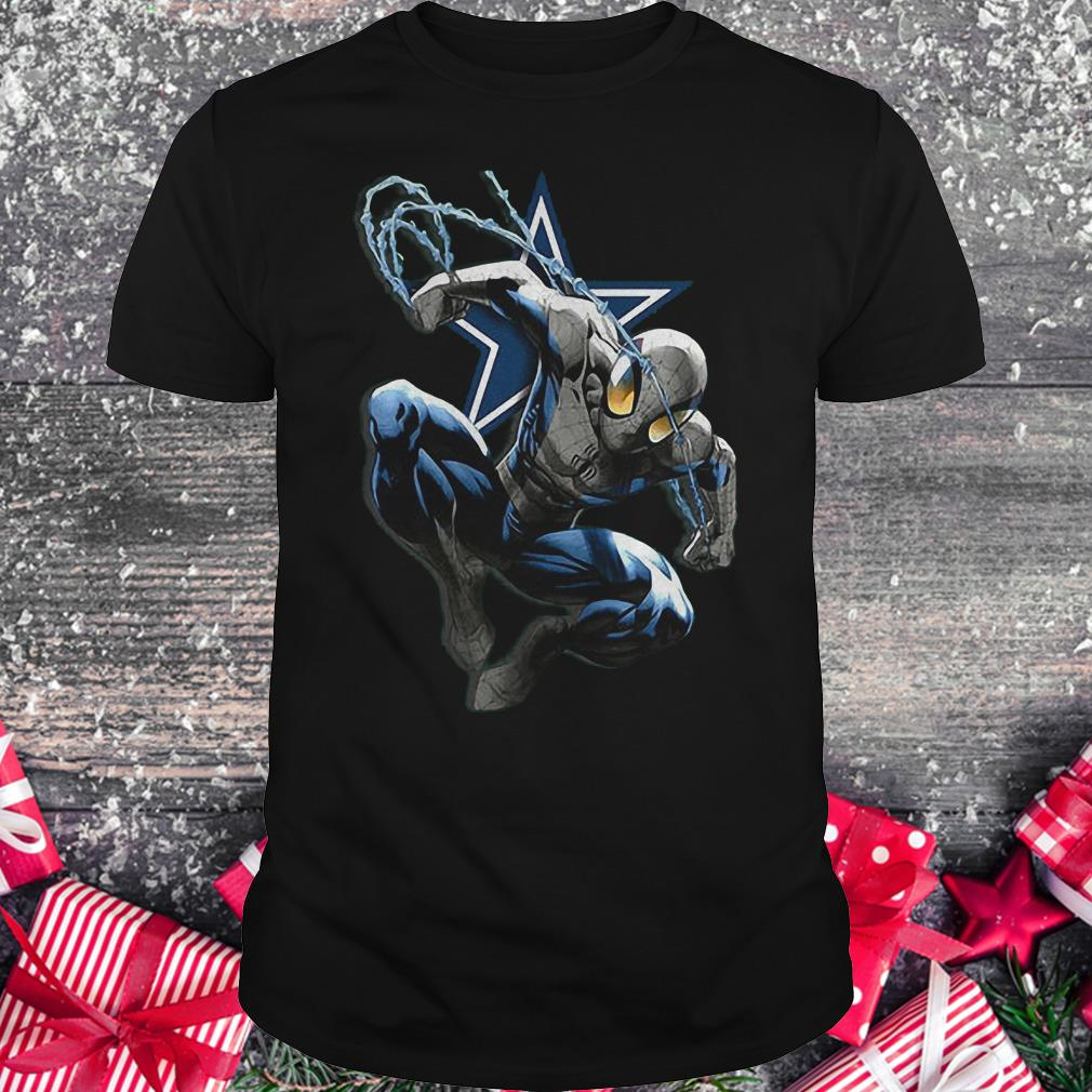 Spiderman Dallas Cowboys Shirt