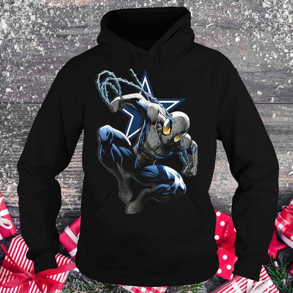 Spiderman Dallas Cowboys Shirt Hoodie