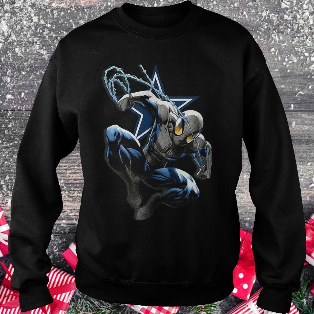 Spiderman Dallas Cowboys Shirt Sweatshirt Unisex