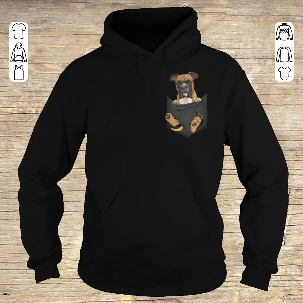 Awesome Boxer Tiny Pocket shirt hoodie Hoodie