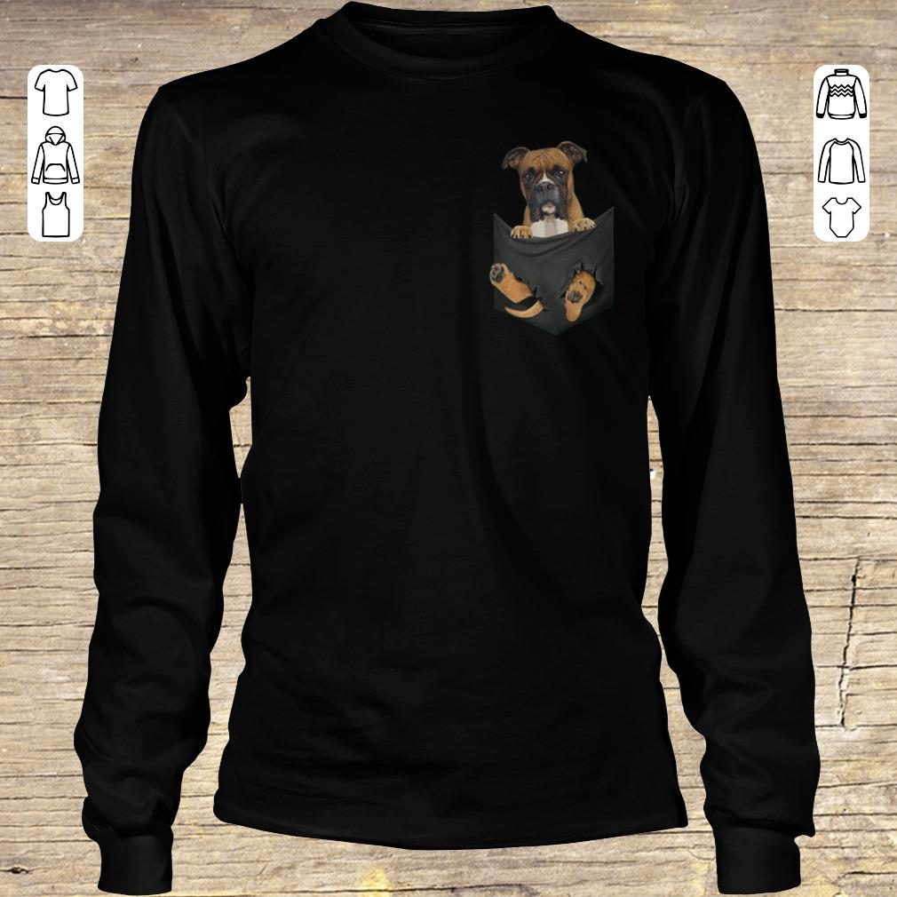 Awesome Boxer Tiny Pocket shirt hoodie Longsleeve Tee Unisex