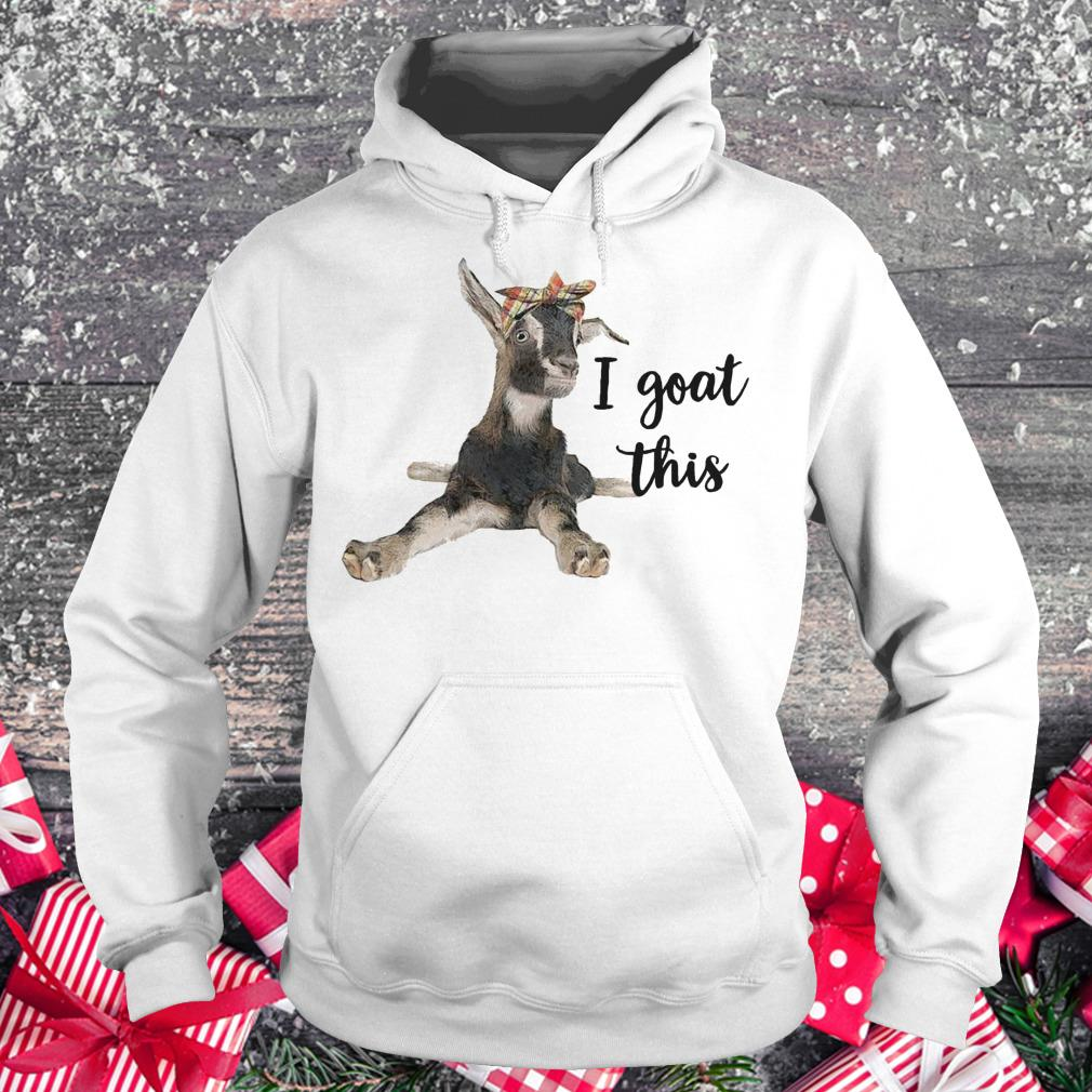 Awesome Farmers I goat this shirt Hoodie