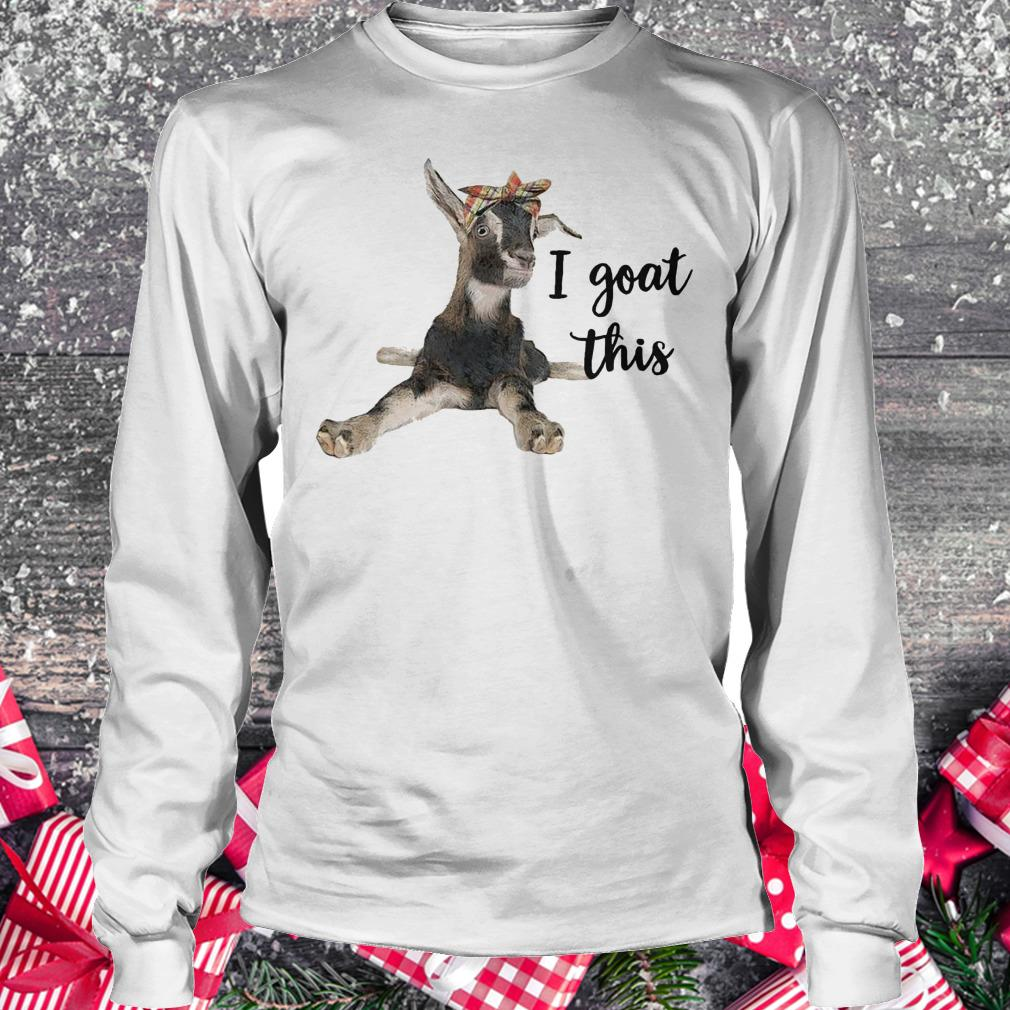 Awesome Farmers I goat this shirt Longsleeve Tee Unisex