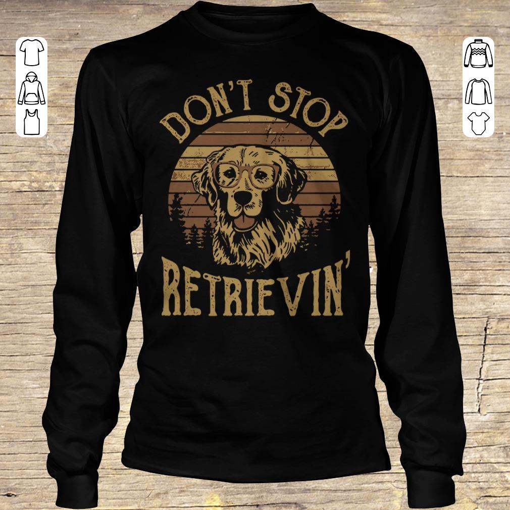 Awesome Sunset Don T Stop Retrievin Shirt Sweater Longsleeve Tee Unisex.jpg