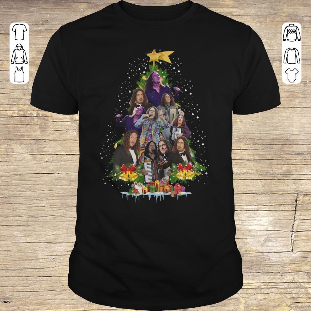 Awesome Weird Al Yankovic Christmas tree shirt Classic Guys / Unisex Tee