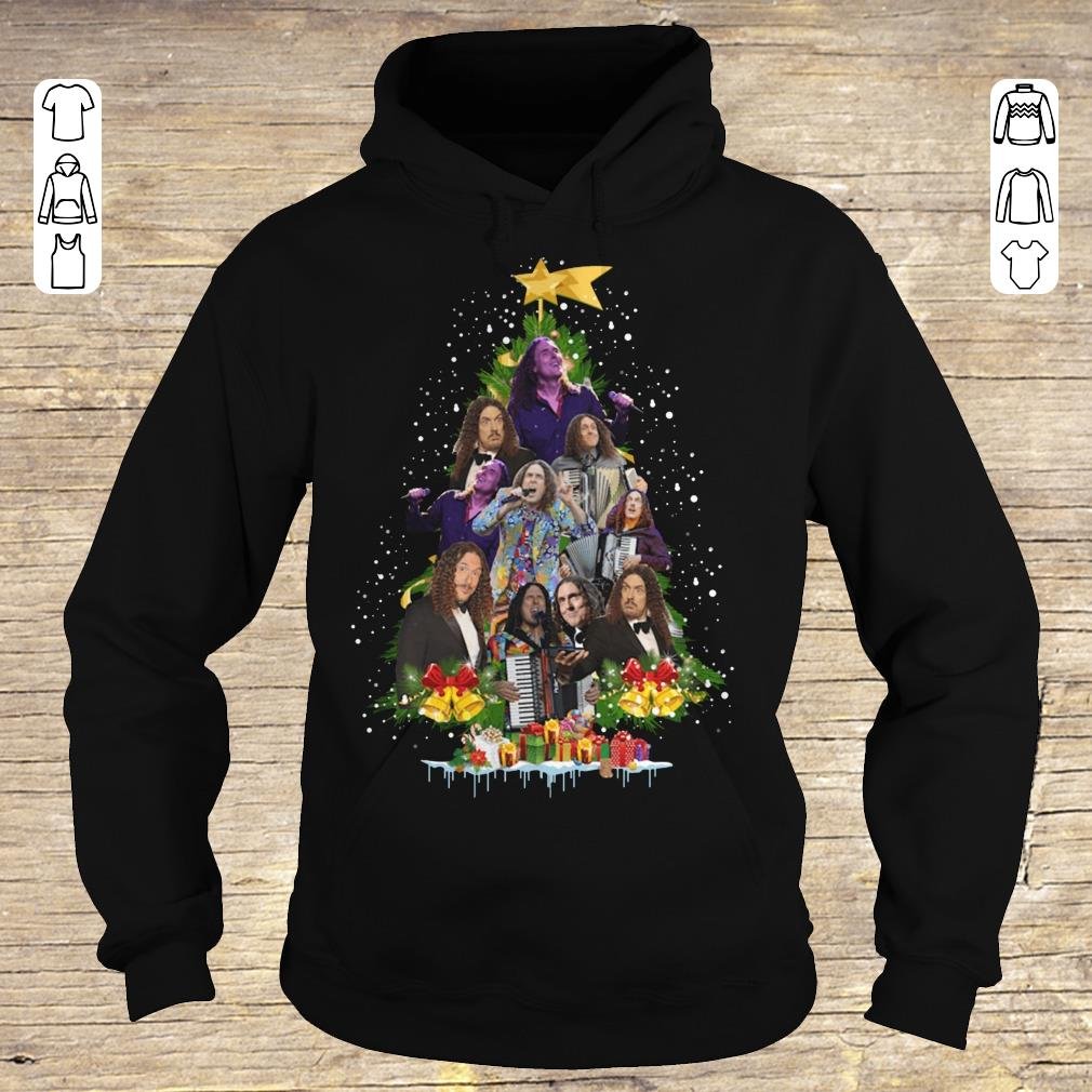 Awesome Weird Al Yankovic Christmas tree shirt Hoodie