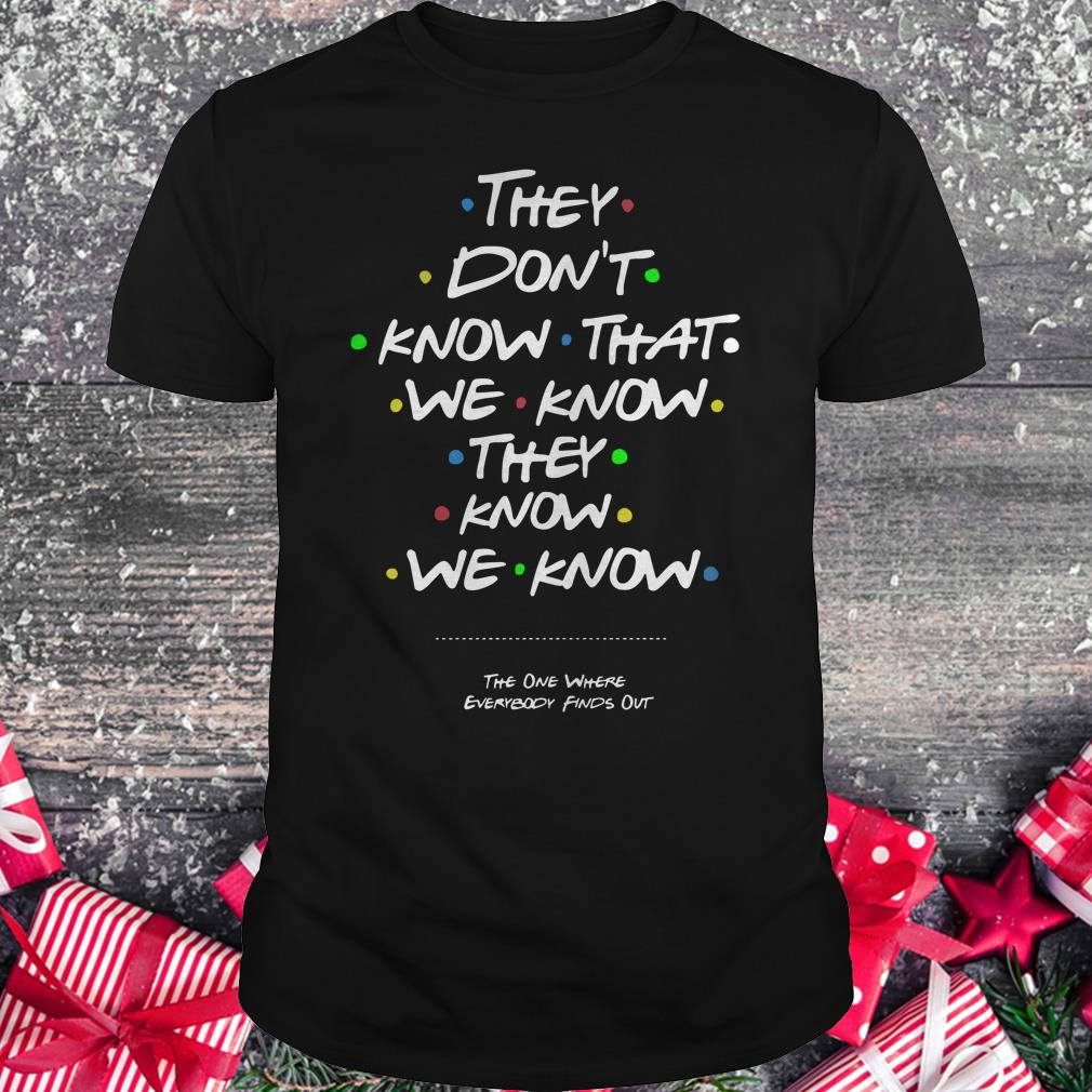 Best Price They don't know that shirt Classic Guys / Unisex Tee