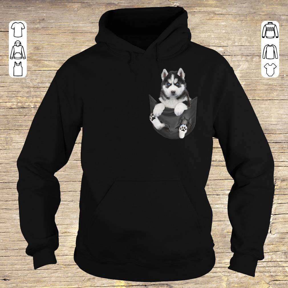 Hot Husky Tiny Pocket shirt hoodie Hoodie
