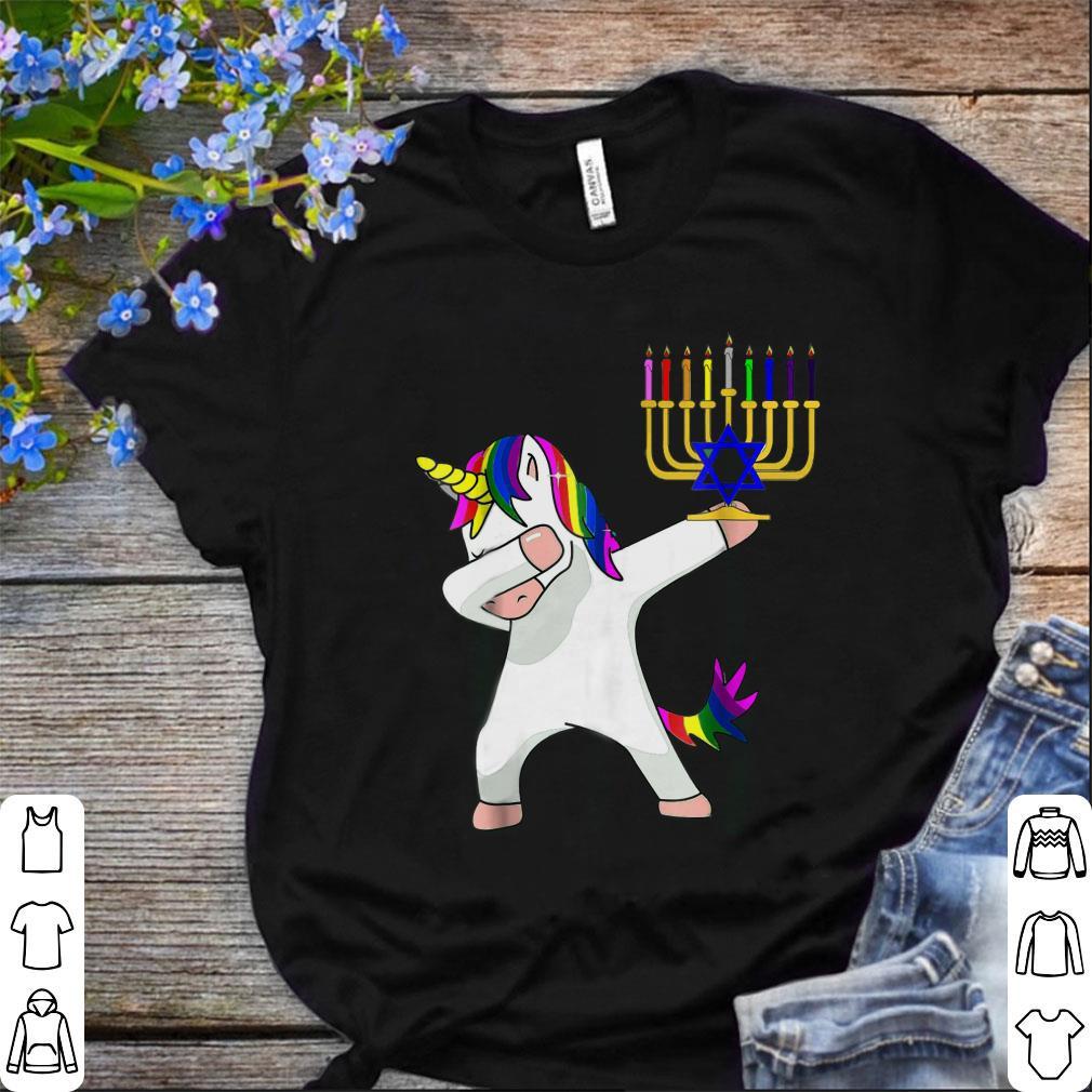 Nice Unicorn Dabbing Hanukkah Shirt 1 1.jpg