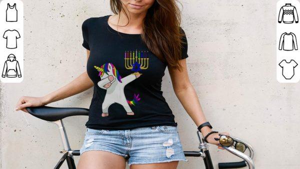 Nice Unicorn Dabbing Hanukkah Shirt 3 1.jpg