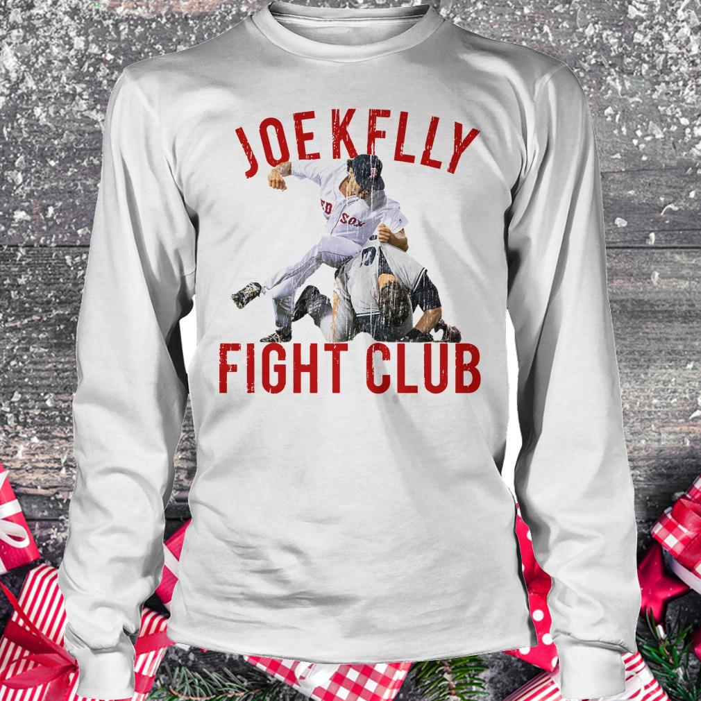 Official Boston Baseball Joe Kelly Fight Club shirt Longsleeve Tee Unisex