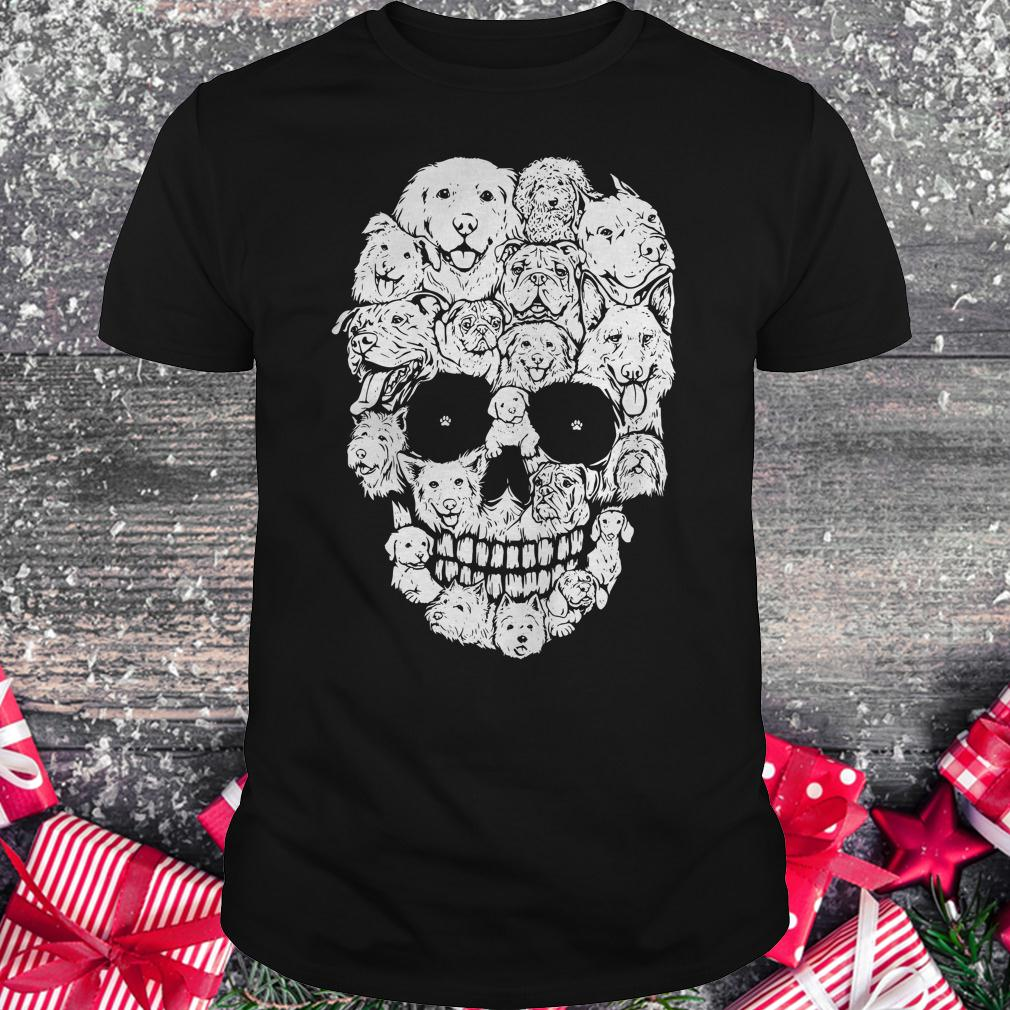 Official Dogs stacked into skull shirt Classic Guys / Unisex Tee