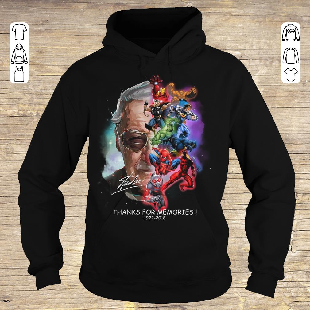 Official Stan Lee Father Of Marvel shirt Hoodie