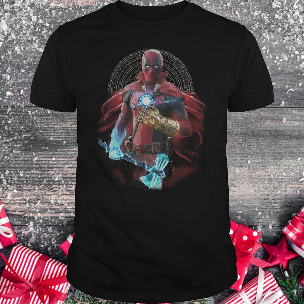 Original Avengers Infinity Deadpool Doctor Strange Iron Man Thanos Thor shirt Classic Guys / Unisex Tee