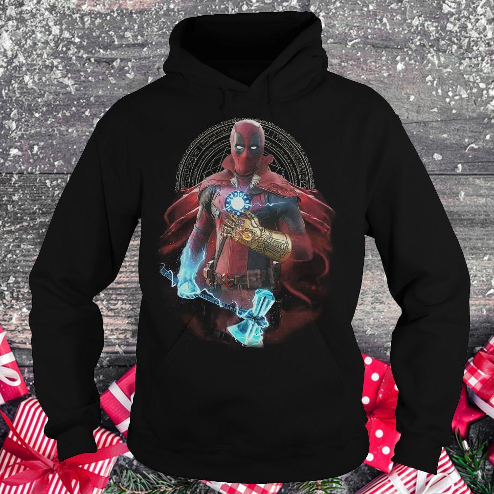 Original Avengers Infinity Deadpool Doctor Strange Iron Man Thanos Thor shirt Hoodie
