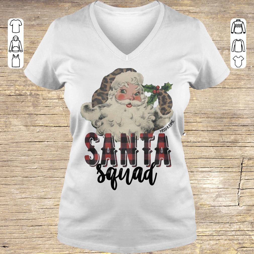 Original Santa Squad shirt hoodie Ladies V-Neck