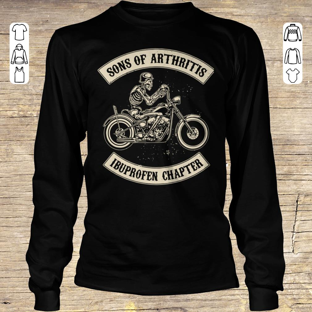 Original Sons of arthritis Ibuprofen chapter shirt longsleeve Longsleeve Tee Unisex
