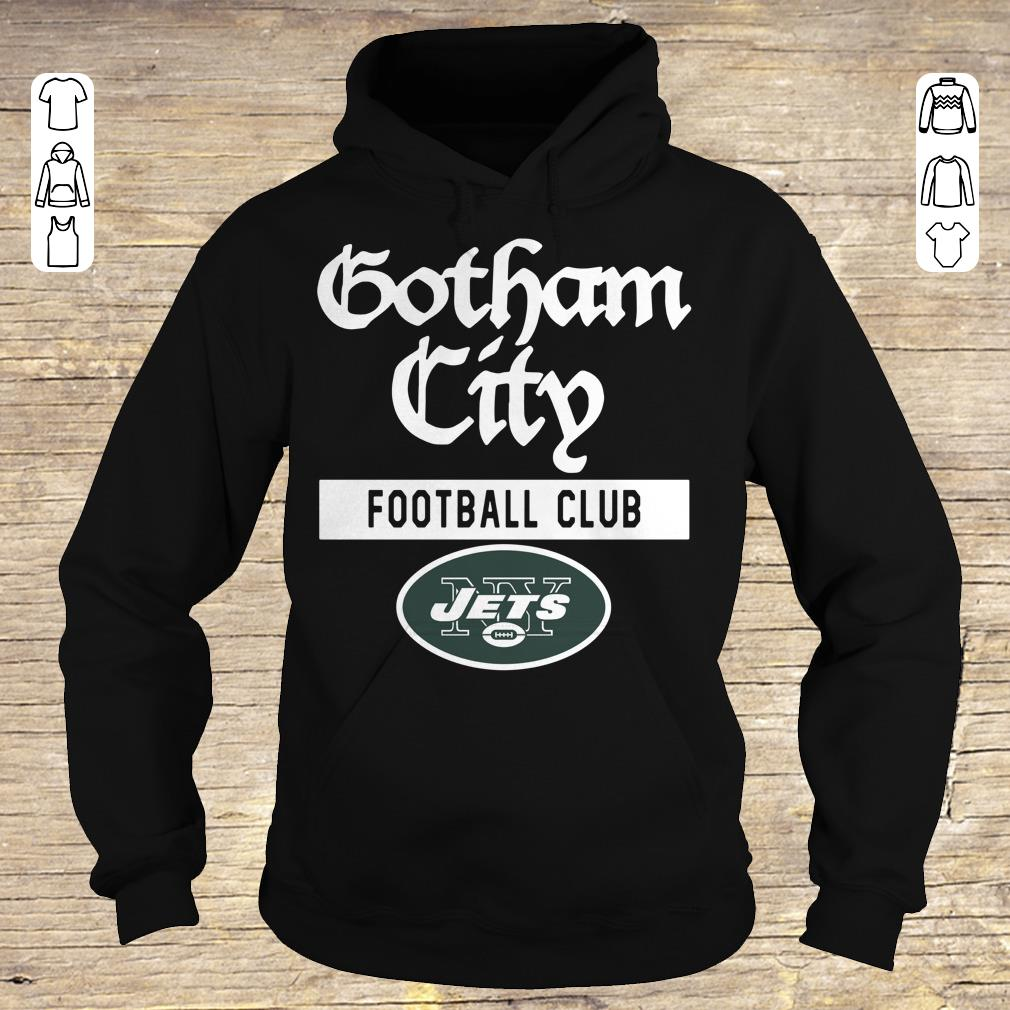 Premium New York Jets Gotham City Football club shirt Hoodie